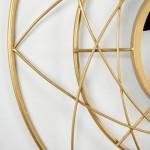 Spiegel 78X8X78 Metall Golden