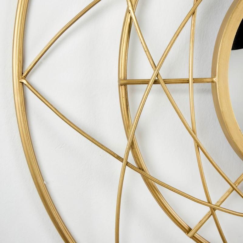 Mirror 78X8X78 Metal Golden - image 53794
