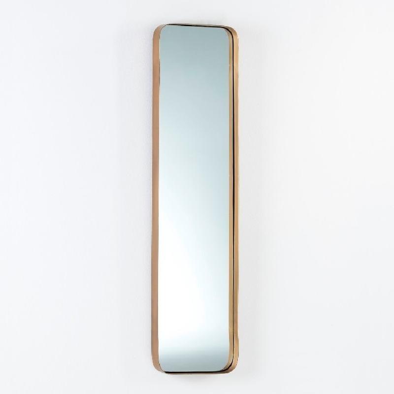 Mirror 30X5X120 Metal Golden