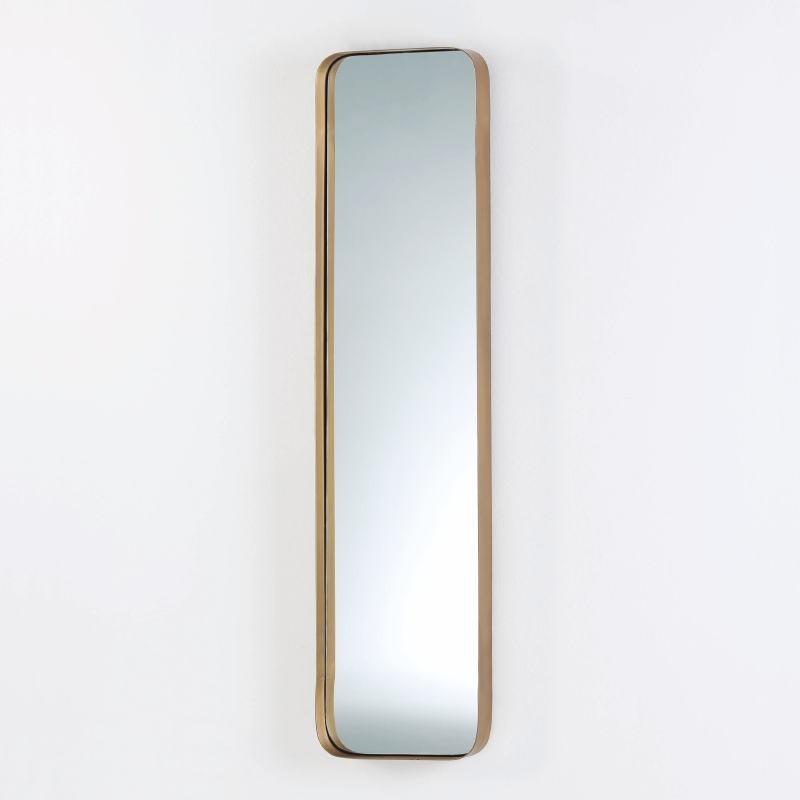 Miroir 30x5x120 Métal Doré - image 53816