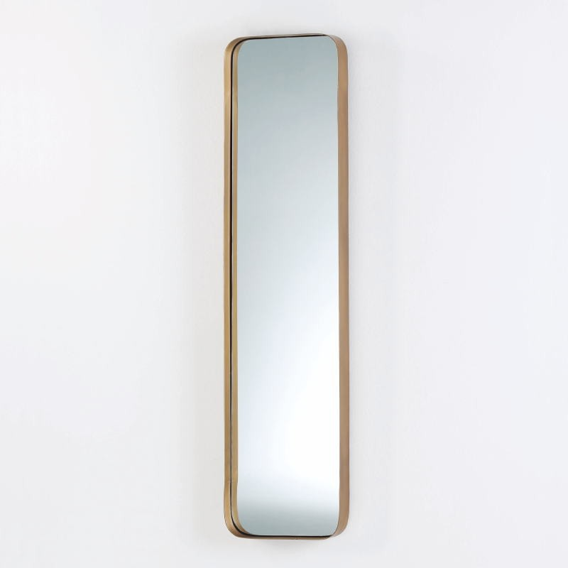 Spiegel 30X5X120 Metall Golden - image 53816
