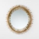 Specchio 85X3X85 Metallo Oro