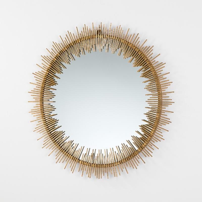 Mirror 85X3X85 Metal Gold - image 53817
