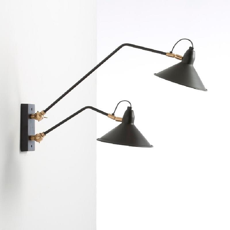 Wall Lamp 66X19X40 Metal Black - image 53829