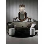 Sideboard 160X50X75 Wood Grey Veiled