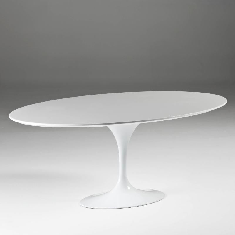 Dining Room Table 200X120X75 Aluminium Mdf White - image 53860