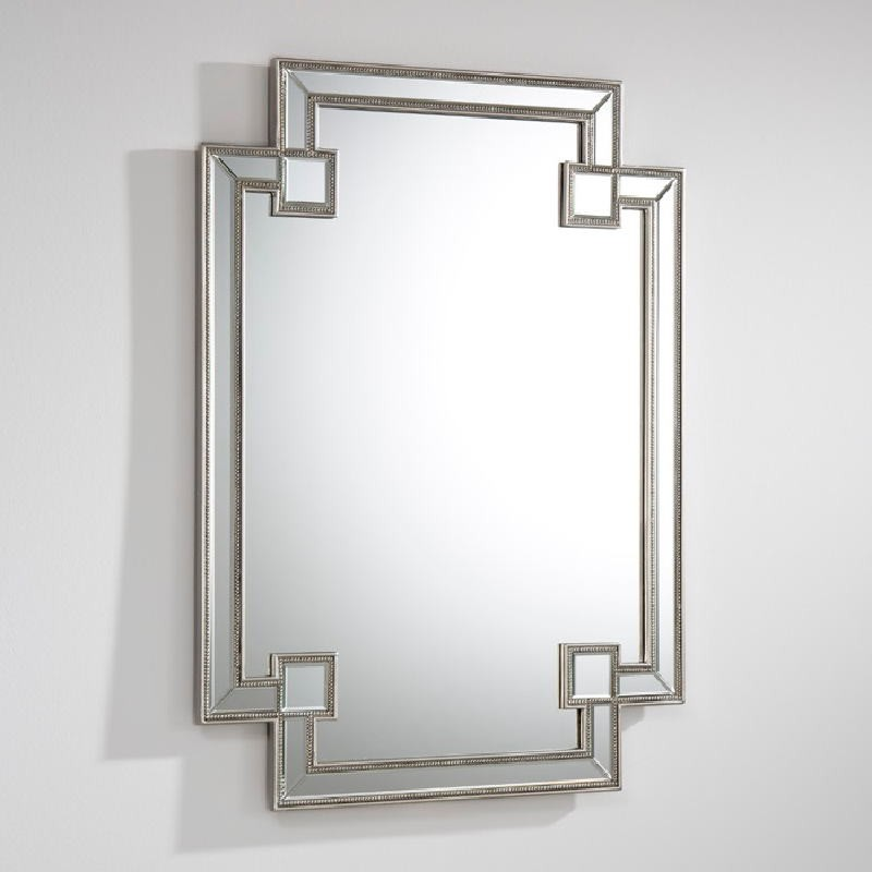 Miroir 89x2x121 MDF Argent