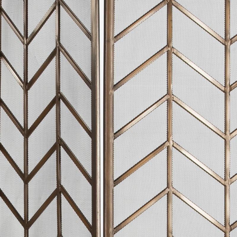Bildschirm 129X1X178 Metall Golden - image 53908