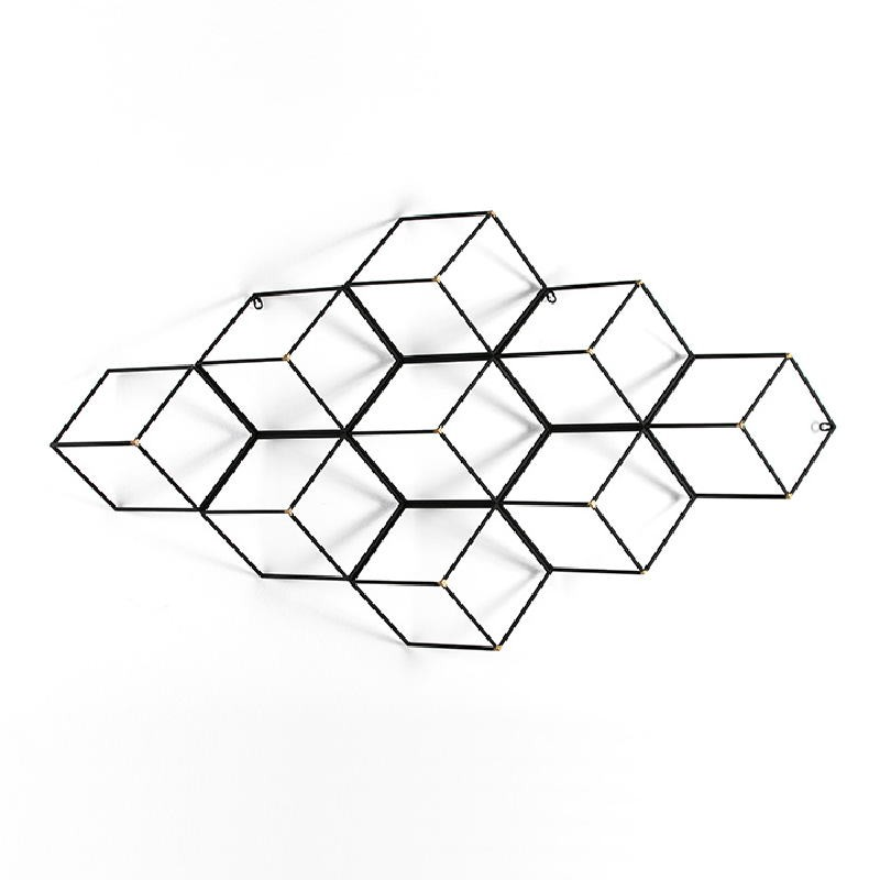 Escultura 84X18X152 Metal Oro Negro - image 53939