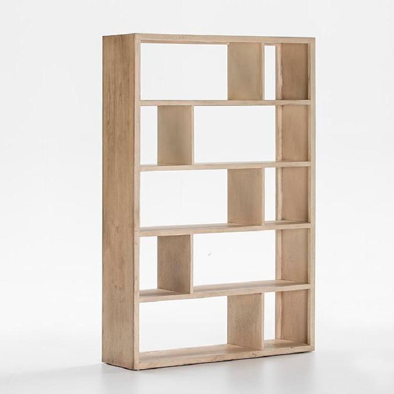 Shelf 120X34X180 Wood White Veiled - image 53976