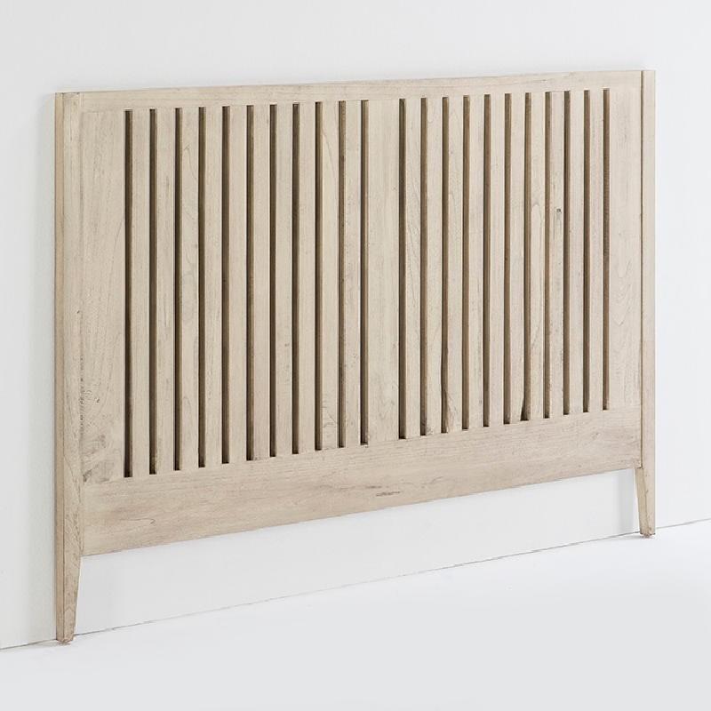 Headboard 162X3X110 Wood Grey Veiled