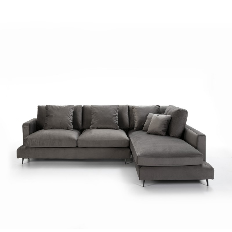 Canapé d'angle 3 places 281x215x87 cm