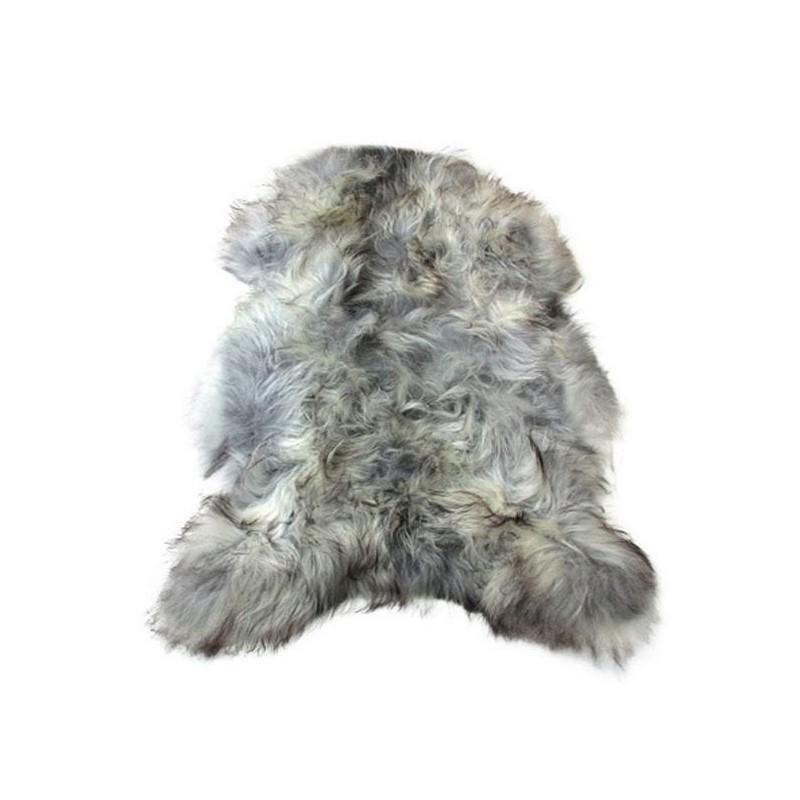 Peau de mouton islandais XXL ICELAND (blanc, gris) - image 54016