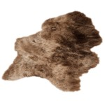 Icelandic sheepskin XXL ICELAND (brown)