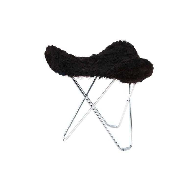 Reposa ovejas, pelos cortos FLYING GOOSE ICELAND pie cromado (negro) - image 54036